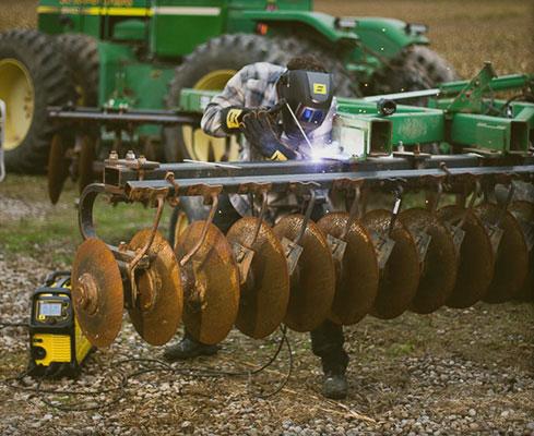 W rolnictwie